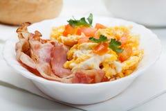 Тяжелый завтрак Стоковые Изображения RF