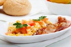Тяжелый завтрак Стоковая Фотография RF