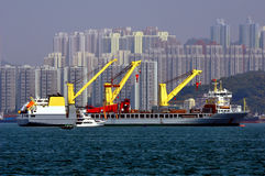 тяжелый корабль подъема Стоковое Изображение RF