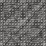 тяжелый метал двери Стоковое Фото