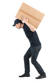 Тяжелая коробка. Стоковое Изображение