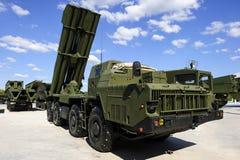 Тяжелая ракетная пусковая установка стоковая фотография rf