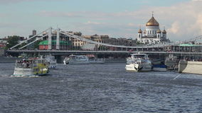Тяжелое движение реки акции видеоматериалы