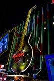 тяжелый рок кафа Стоковая Фотография RF