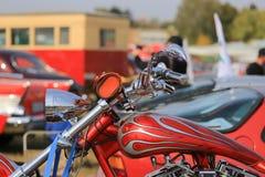 Тяпка мотоцикла Стоковые Изображения