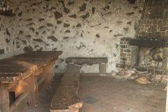 Убежище на вулкане Этна в Сицилии стоковые изображения