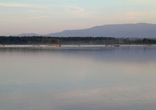 Убежище птиц озера Стоковое Изображение RF