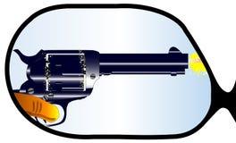 Убивать водителя иллюстрация вектора