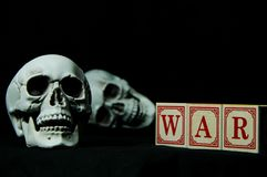 Убийства войны Стоковое фото RF