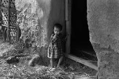 Убийства ребенка девушки стоковая фотография rf