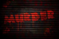 убийство Стоковая Фотография RF