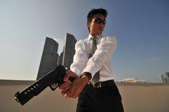убийца 37 агентов Стоковое Изображение