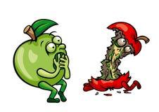 Убитое яблоко Стоковая Фотография RF