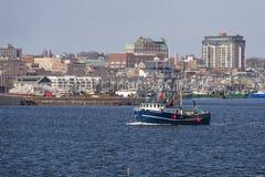 Убой II выходя New Bedford Тома рыболовецкого судна стоковое фото rf