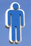 уборный икон Стоковое Фото
