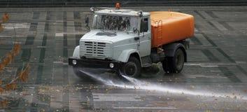уборщик автомобиля Стоковые Фото