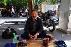 Уборщик ботинка Стоковое Фото