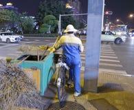 Уборщик улицы Стоковое Фото