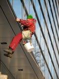 Уборщик Windows Стоковая Фотография