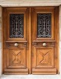 дуб дверей старый Стоковое фото RF