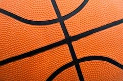 увеличенный баскетбол шарика Стоковое Изображение