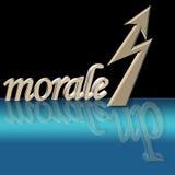 увеличенный моральный дух Стоковые Фотографии RF