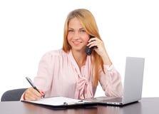 Уверенно бизнес-леди Стоковая Фотография RF