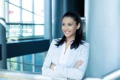 Уверенно женские главные исполнительные директоры стоковое фото rf