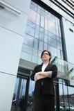 Уверенно женщина руководителя бизнеса Стоковое Изображение