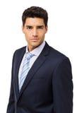 Уверенно молодой бизнесмен стоковое изображение rf