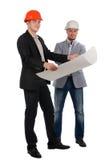2 уверенно партнера архитектора Стоковые Изображения RF