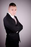 Уверенно портрет бизнесмена Стоковое фото RF