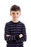 Уверенно портрет ребенка стоковое фото rf
