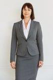 Уверенно успешная бизнес-леди стоковая фотография rf