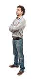 уверенно человек Стоковые Фотографии RF