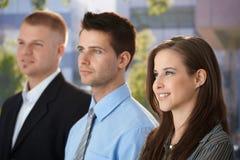 Уверенно businessteam стоковое фото