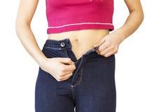 Увеличение веса или потеря веса стоковое изображение rf