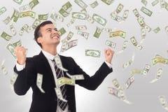 Увеличение денег стоковое фото rf