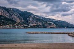 Увидеть Италию от Франции Стоковые Фото