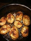 Увольнянные картошки стоковое изображение