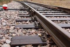 Уводить железнодорожный путь Стоковая Фотография RF