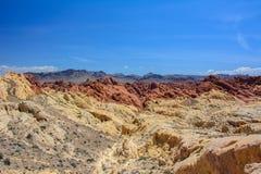 Увольняйте купол каньона/кремнезема, Невада, США стоковая фотография