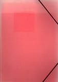 увяданный красный цвет скоросшивателя старый Стоковые Фото