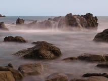 увядая море утесов Стоковое Изображение