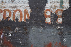 Увяданная кирпичная стена Стоковая Фотография RF