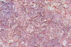 Увяданная красная текстура прессованной древесины Стоковые Фотографии RF