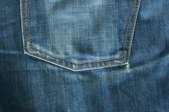 увядают джинсы Стоковое Изображение