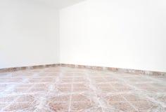 угловойая пустая комната офиса иллюстрация штока