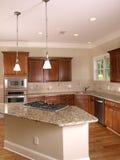 угловойая роскошь кухни 2 Стоковая Фотография