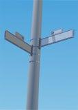 угловойая улица знака Стоковое Фото